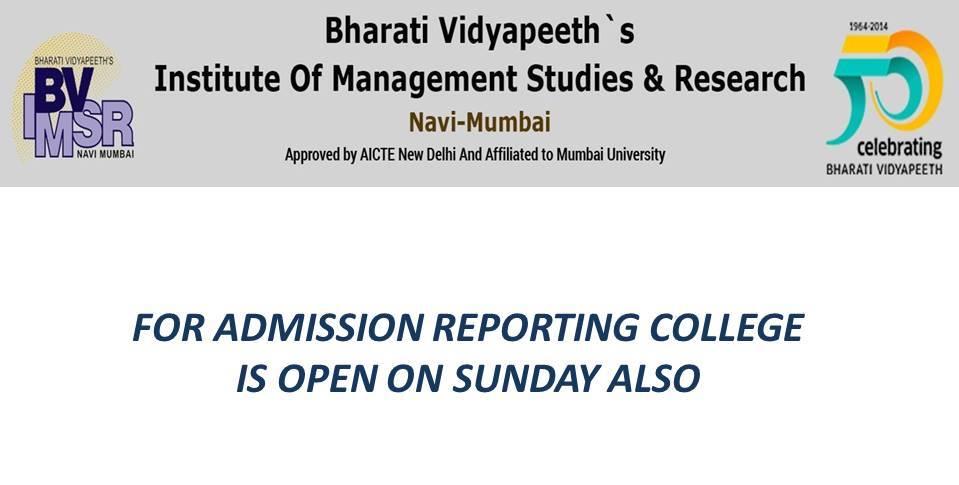 BVIMSR's Journal of Management Research – BVIMSR
